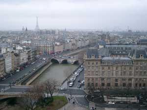ノートルダム大聖堂からの眺望