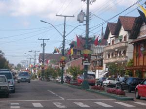 グラマド市街の街並み