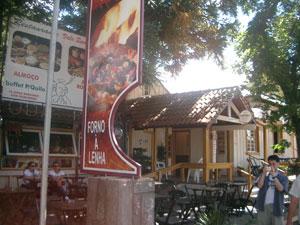 レストランの外観@グラマド(ブラジル)