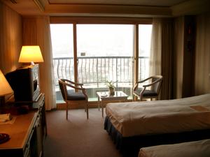 リビエラホテル(Riviera Hotel)@韓国釜山のツインルーム