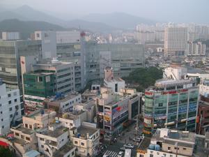 リビエラホテル(Riviera Hotel)@韓国釜山からの眺め