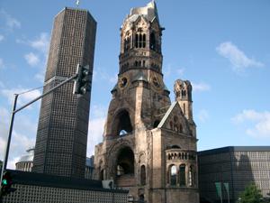 カイザーヴィルヘルム記念教会@ベルリン,ドイツ