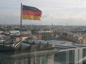 ドイツ連邦議会議事堂の透明ドーム@ベルリン,ドイツ