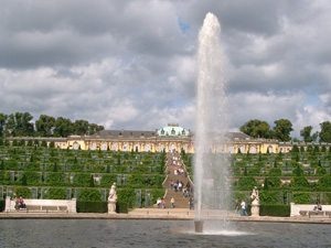 サンスーシ宮殿@ポツダム,ドイツ