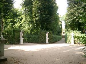 迷路のようなサンスーシ公園@ポツダム,ドイツ