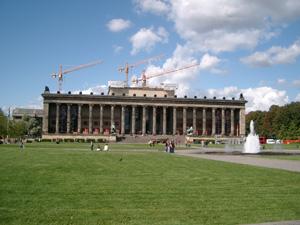 博物館島の旧博物館@ベルリン,ドイツ