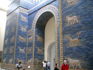 古代バビロニアのイシュタール門@ベルリン,ドイツ