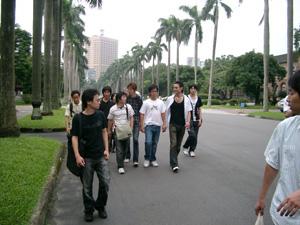 国立台湾大学(NTU)の構内@台北(台湾)
