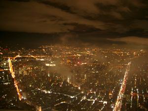 Taipei 101展望台からの夜景@台北(台湾)