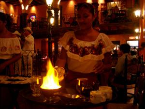 マヤコーヒー @ La Casa de las Margaritas, Cancun, Mexico