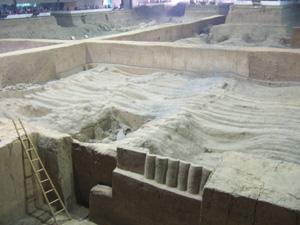 秦始皇兵馬俑博物館二号坑 @ 西安,中国