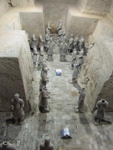 秦始皇兵馬俑博物館三号坑 @ 西安,中国