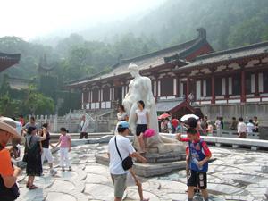 華清池にある楊貴妃の像 @ 西安,中国