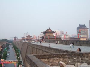 明代城壁 @ 西安,中国