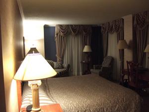 Hotel Palace Royal 客室 @ ケベック,カナダ