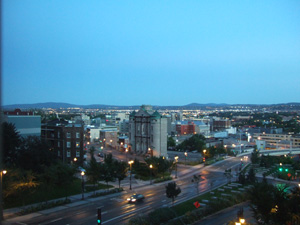 Hotel Palace Royal 客室からの眺望 @ ケベック,カナダ