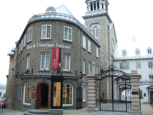 Musee de l'Amerique francaise (北米フランス博物館)