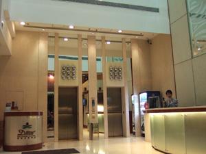 香港帝豪奧運酒店(Dorsett Olympic Hotel)ロビー@香港,中国