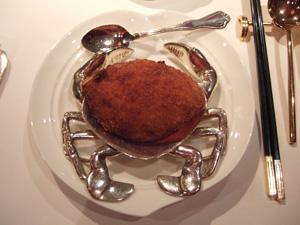蟹詰物のフライ@香宮,シャングリラホテル,香港