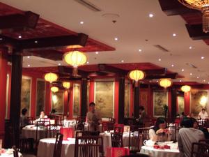 香宮の店内@シャングリラホテル,香港