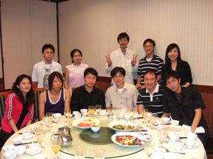 懇親会の様子@香港科技大学(HKUST)