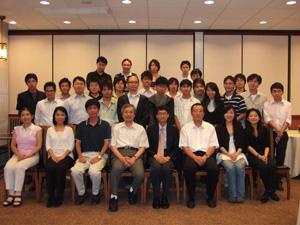 懇親会後の記念撮影@香港科技大学(HKUST)