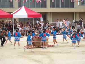 祭り(幼稚園の運動会)