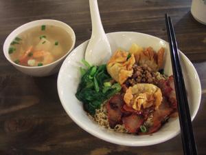 マレーシアの麺料理 Kolo Mee@シンガポール