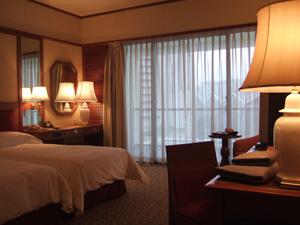 マンダリンオリエンタルの客室@シンガポール