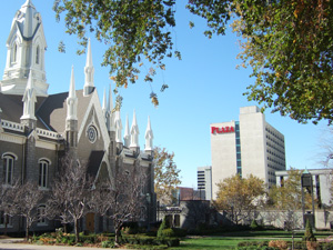 Salt Lake Plaza Hotel at Temple Square@ソルトレイクシティ