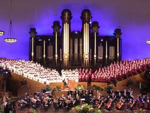 モルモン・タバナクル聖歌隊(Mormon Tabernacle Choir)@ソルトレイクシティ