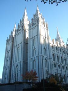 神殿(Salt Lake Temple)@ソルトレイクシティ