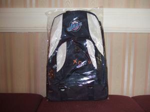 NBA Utah Jazzのバックパックをプレゼント