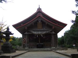「因幡の白兎」を祭る白兎神社