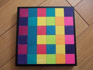 ネフ(naef)社のキーナーモザイク(Mosaik)による長男4歳の作品