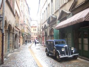 世界遺産にも登録されているリヨンの旧市街