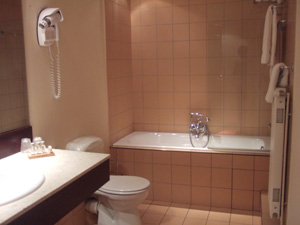 ホテル Le Roosevelt のバスルーム@リヨン,フランス