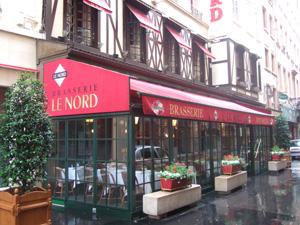 ガラス張りの店@Le Nord (ポール・ボキューズ系)