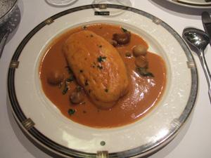 魚のふわふわ料理@Le Nord (ポール・ボキューズ系)