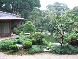 日本庭園@玉造温泉の長楽園