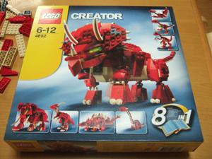 サンタクロースからのプレゼントはLEGO Creatorの恐竜