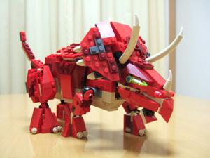 LEGO Creatorのトリケラトプス