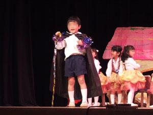 魔法使いと白雪姫@幼稚園のリズム発表会