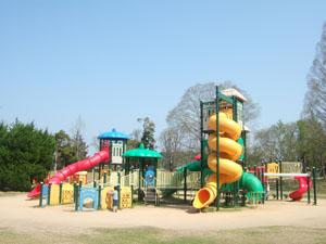 巨大な遊具@丹波自然運動公園