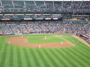 大リーグ観戦Baltimore Orioles vs Los Angeles Angels of Anaheim @バルチモア