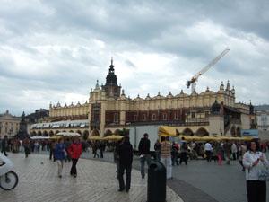 中央市場広場の織物会館@クラクフ, ポーランド