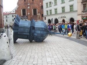 聖マリア教会の落とし物@クラクフ, ポーランド