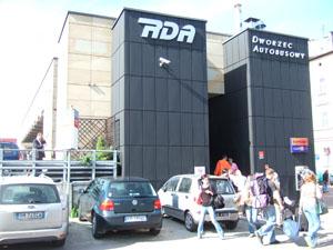 PKSバスターミナル@クラクフ, ポーランド