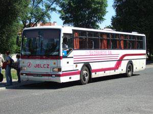 クラクフからアウシュビッツへの路線バス@ポーランド