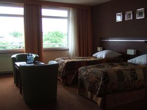 Hotel Wyspianskiの客室@Cracow, Poland